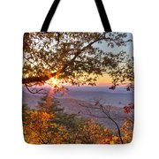 Smoky Mountain High Tote Bag by Debra and Dave Vanderlaan