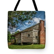 Smoky Mountain Pioneer Cabin E126 Tote Bag