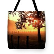 Smoky Mountain Sunrise Tote Bag