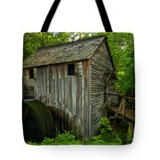 Smoky Mountains Grist Mill Tote Bag