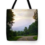 Smoky Mountains Scene Tote Bag