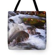 Smoky Mtn Stream - 429 Tote Bag