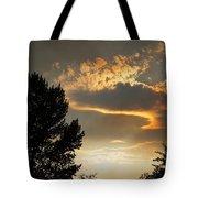 Smoky Summer Afternoon Sky Tote Bag