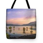 Smoky Sunset Tote Bag