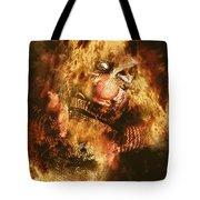 Smoky The Voodoo Clown Doll  Tote Bag