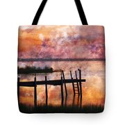Smoldering Sunrise Tote Bag