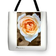 Smooth Angel Rose Tote Bag