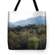 Smugglers Notch From Cambridge Vermont Tote Bag