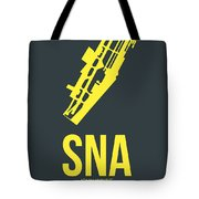 Sna Orange County Airport Poster 3 Tote Bag