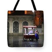 Snack Seller Cankurtaran Istanbul Tote Bag