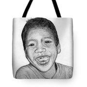 Snaggle-tooth Tote Bag