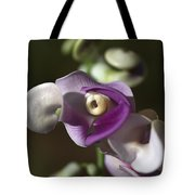 Snail Flower In The Spot Light Tote Bag