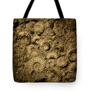Snail Fossil Tote Bag