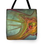 Snail In The 30th Century Tote Bag
