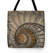 Snailing Stairs Tote Bag