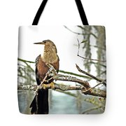 Snake Bird Tote Bag
