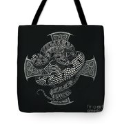 Snake Cross Tote Bag