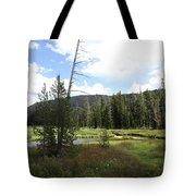 Snake River Meadow Tote Bag