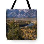 Snake River Overlook One Tote Bag