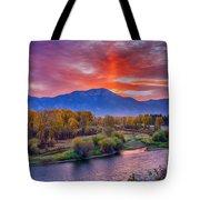 Snake River Sunrise Tote Bag