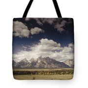 Snake River Valley Grand Teton Np Tote Bag