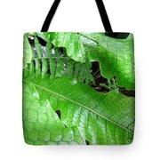 Snake Skin Plant Tote Bag