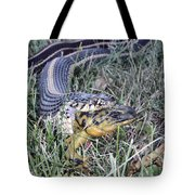 Snake With Legs Tote Bag