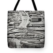 Snakes And Commuters Tote Bag