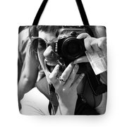 Snap Chat  Tote Bag