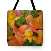 Snapdragons Tote Bag