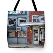 Snappy Lunch And Floyd Nc Tote Bag