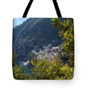 Sneak View Tote Bag