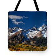 Sneffels Clearing  Tote Bag