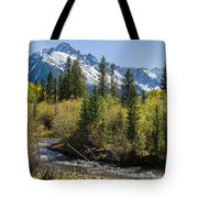 Sneffles And Stream II Tote Bag