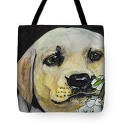 Sniff The Flowers Tote Bag by Roger Wedegis