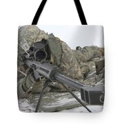Snipers Provide Overwatch At Fort Tote Bag