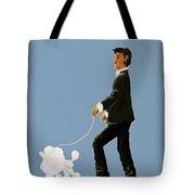 Snooty Poodle Tote Bag
