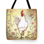 Snooty The Rooster Two Tote Bag