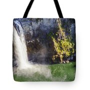 Snoqualime Falls And Pool Tote Bag