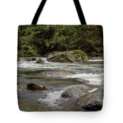 Snoqualmie Rapids Washington Tote Bag