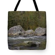 Snoqualmie River Tote Bag