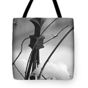 Snow Accent Tote Bag