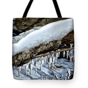 Snow And Icicles No. 1 Tote Bag