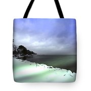 Snow And Sand Unite Tote Bag