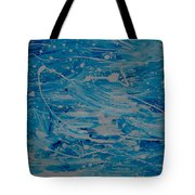Snow And Water Tote Bag