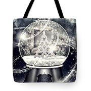 Snow Ball Tote Bag
