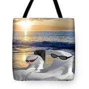 Snow Bird Vacation Tote Bag