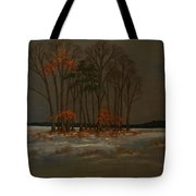 Snow Tote Bag