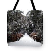 Snow Bridge Tote Bag