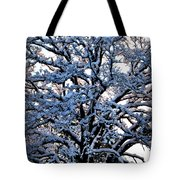 Snow Bright Tote Bag